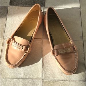 Beautiful Coach shoes.  Size 7.  So cute!